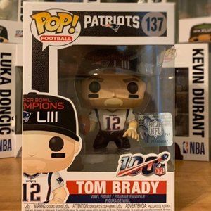 Funko Pop! Tom Brady SuperBowl LIII #137
